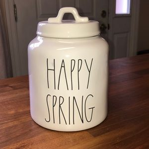 🌸 Rae Dunn Happy Spring canister 🌸